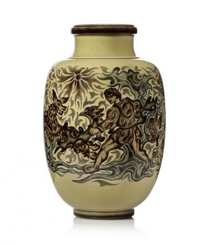 """Manufacture de Sèvres - Vase model """"Decœur n°14"""