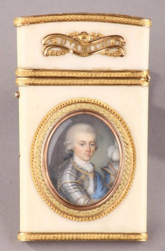 Gold and ivory case - Louis XVI