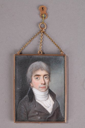 Miniature Signed Etienne Charles Le Gay.