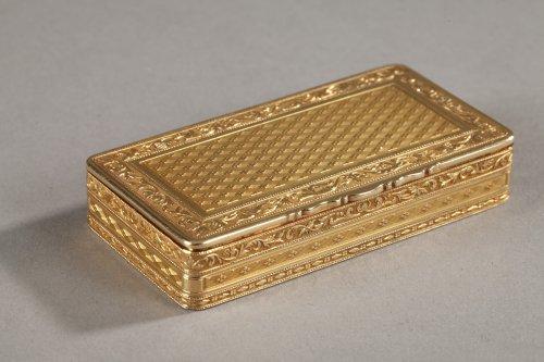 Gold box late 18th century