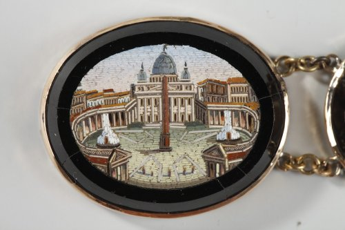 Antique Jewellery  - Micromosaic bracelet. Early 19th century.