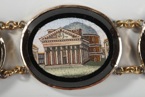 19th century - Micromosaic bracelet. Early 19th century.
