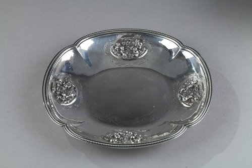 Silver Oille Tureen by Emile Hugo Late 19th Century. - Napoléon III