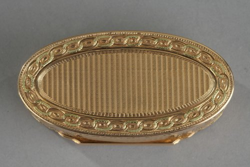 Gold box of Louis XVI period -