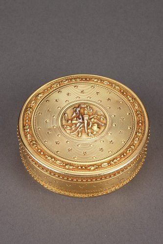 Gold Candy box Louis XVI period - Objects of Vertu Style Louis XVI