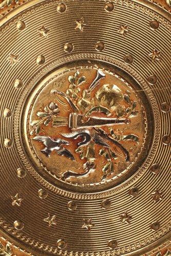 Objects of Vertu  - Gold Candy box Louis XVI period