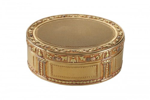 Louis XVI Gold snuff box Circa 1778