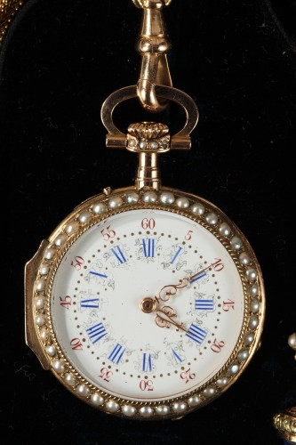 Clocks  - Exceptional Leroy & Fils Chatelaine