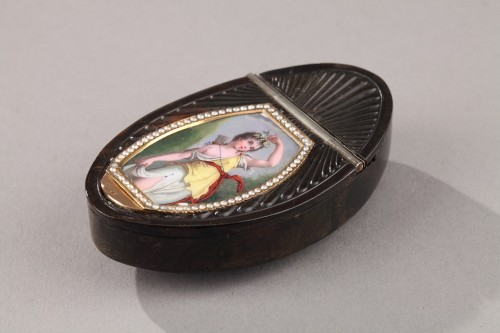 Objects of Vertu  - Tortoiseshell, Enamel, Pearl, and Gold box