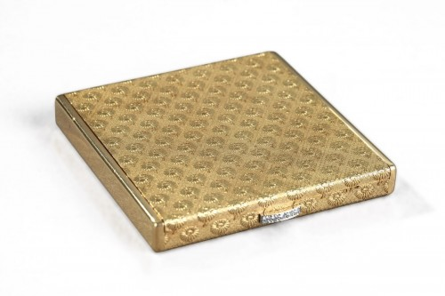 Gold and diamonds Boucheron case. 1960