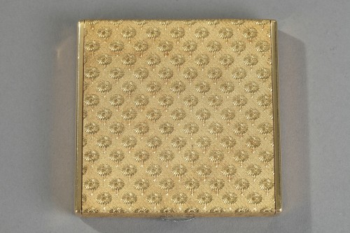 Gold and diamonds Boucheron case. 1960 -
