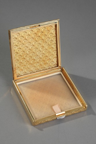 20th century - Gold and diamonds Boucheron case. 1960