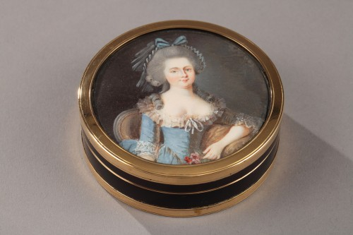 Objects of Vertu  - Gold, Tortoiseshell, and Ivory Box – Louis XVI period