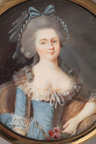 Gold, Tortoiseshell, and Ivory Box – Louis XVI period  - Louis XVI
