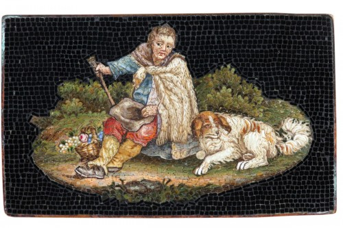 Micromosaic of Shepherd