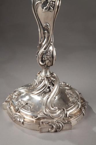Antiquités - Silver candelabra Signed BOIN TABURET