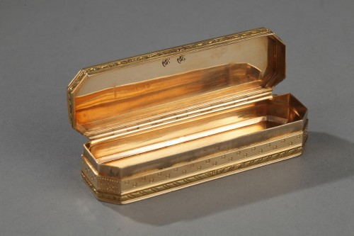 Gold case End 18th century. - Objects of Vertu Style Directoire