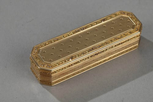 Objects of Vertu  - Gold case End 18th century.