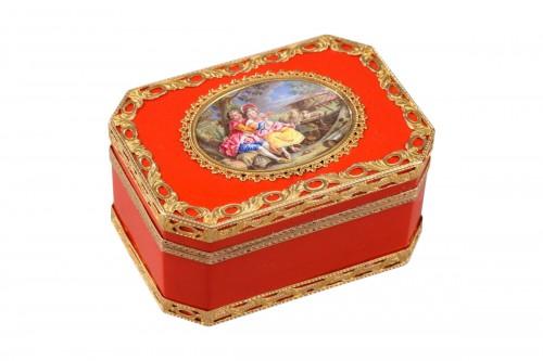 Louis XV Gold snuff box. Mid-18h century