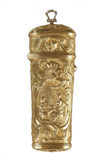18th Century Gold Necessaire.