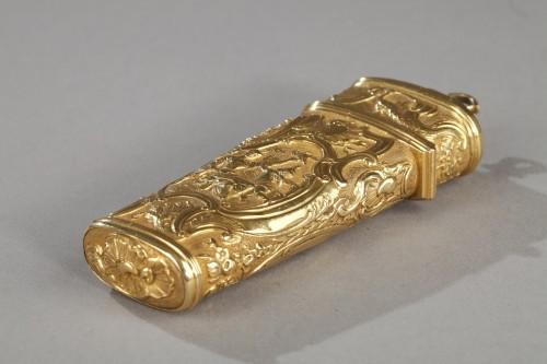 18th Century Gold Necessaire.  -