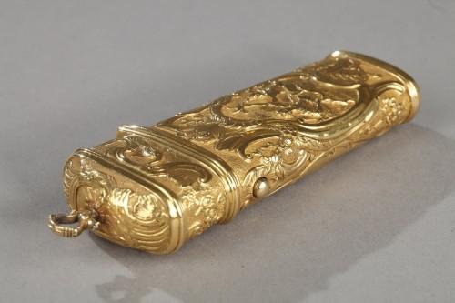 18th century - 18th Century Gold Necessaire.