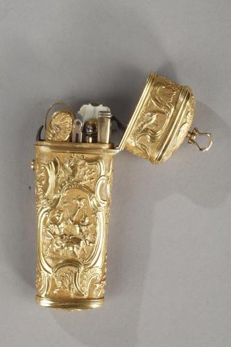18th Century Gold Necessaire.  - Louis XV