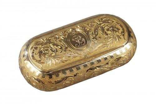 Gold snuff circa 1820-1830