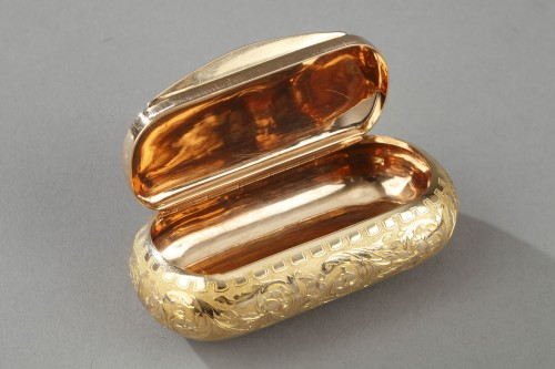 Gold snuff circa 1820-1830 - Objects of Vertu Style Restauration - Charles X