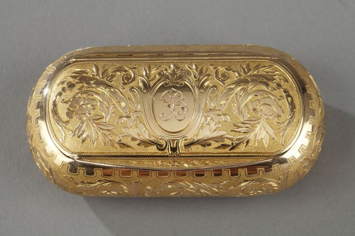 Objects of Vertu  - Gold snuff circa 1820-1830