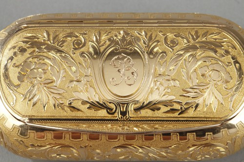 Gold snuff circa 1820-1830 -