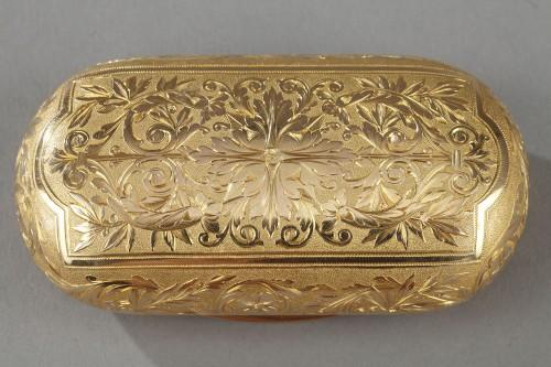 19th century - Gold snuff circa 1820-1830