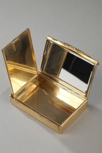 Gold compact Van Cleef & Arpels, 1950's - Antique Jewellery Style 50
