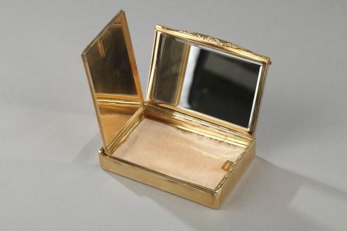 Gold compact Van Cleef & Arpels, 1950's -