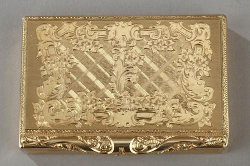 Antiquités - Gold compact Van Cleef & Arpels, 1950's