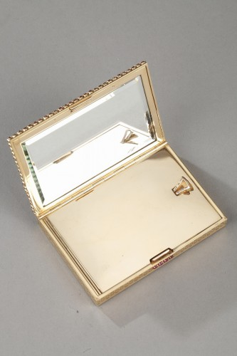 Gold , rubis compact -