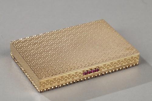 Antiquités - Gold , rubis compact