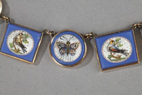 Antique Jewellery  - Miicromosaic parure 19th century