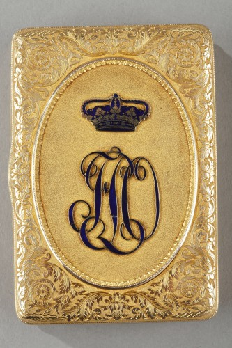 19th century - 19TH CENTURY GOLD SNUFF-BOX DUKE OF ORLEANS.