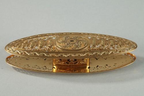 Large gold spool. louis xv period of Mathieu Coigny - Louis XV
