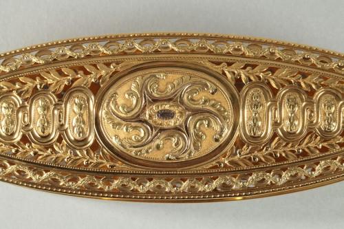 Louis XV - Large gold spool. louis xv period of Mathieu Coigny