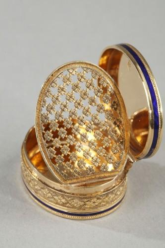 Antiquités - Early 19th Century Gold Vinaigrette