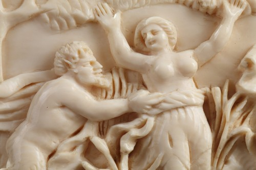 18th century - A late 18th Century continental ivory plaque