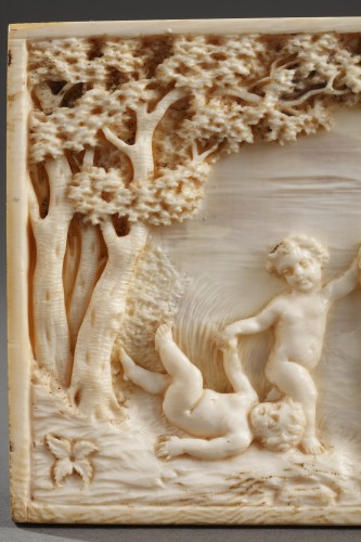 Early 19th Century continental ivory plaque - Directoire