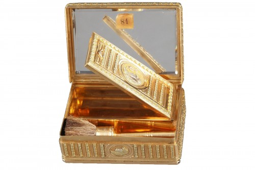 18th century Gold box