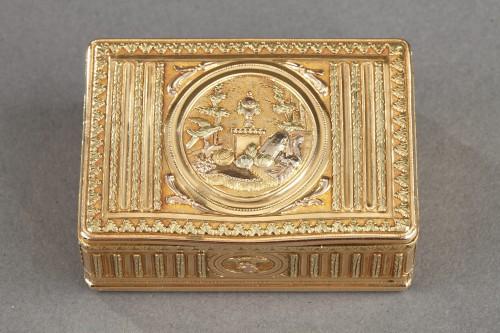 18th century Gold box - Objects of Vertu Style Louis XVI