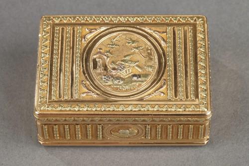 Louis XVI - 18th century Gold box