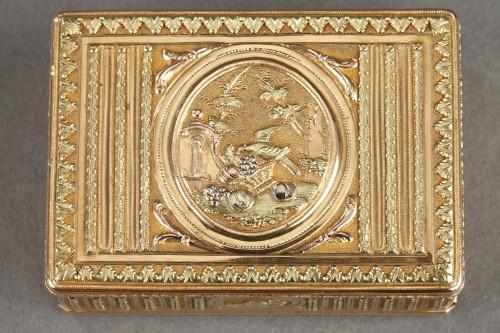 Antiquités - 18th century Gold box