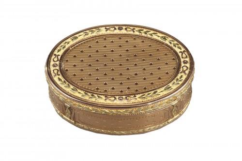 Louis XVI gold box