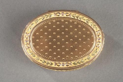 Louis XVI gold box - Objects of Vertu Style Louis XVI